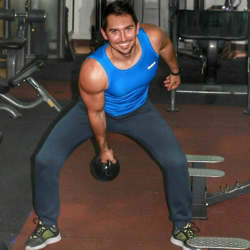 Abu Dhabi Personal Trainer Andrey - Kettle Bell Training