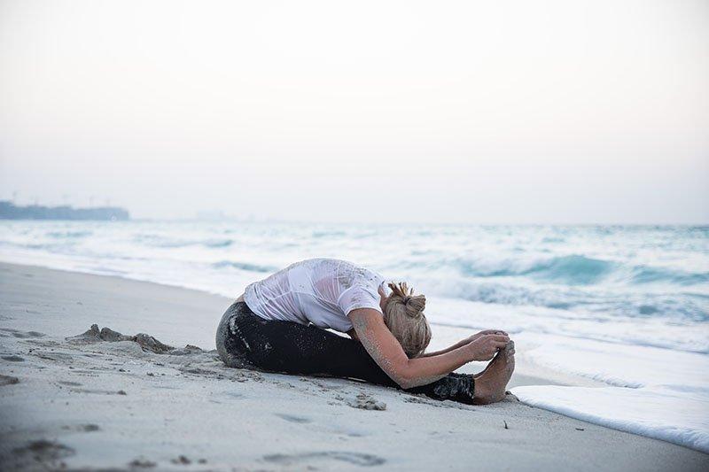 Female Yoga Teacher in Abu Dhabi - Gisella - Yoga On The Beach 11