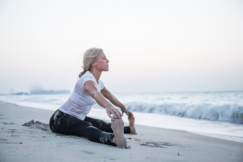 Female Yoga Teacher in Abu Dhabi - Gisella - Yoga On The Beach 12