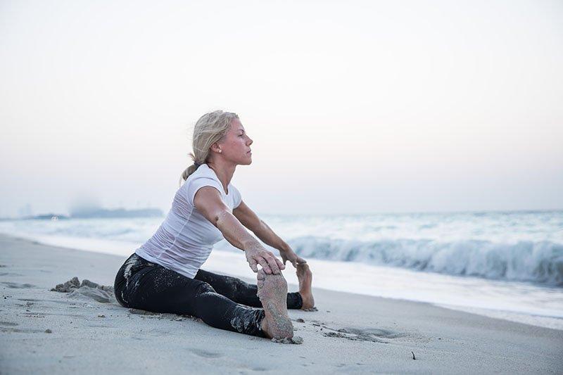 Female Yoga Teacher in Abu Dhabi - Gisella - Yoga On The Beach 12