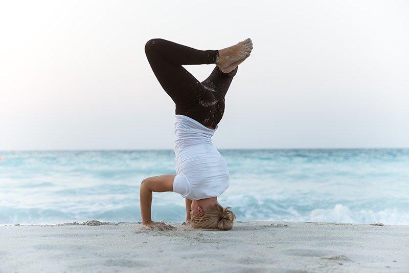 Female Yoga Teacher in Abu Dhabi - Gisella - Yoga On The Beach 13