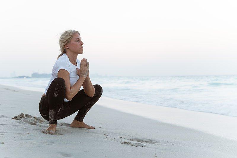 Female Yoga Teacher in Abu Dhabi - Gisella - Yoga On The Beach 14