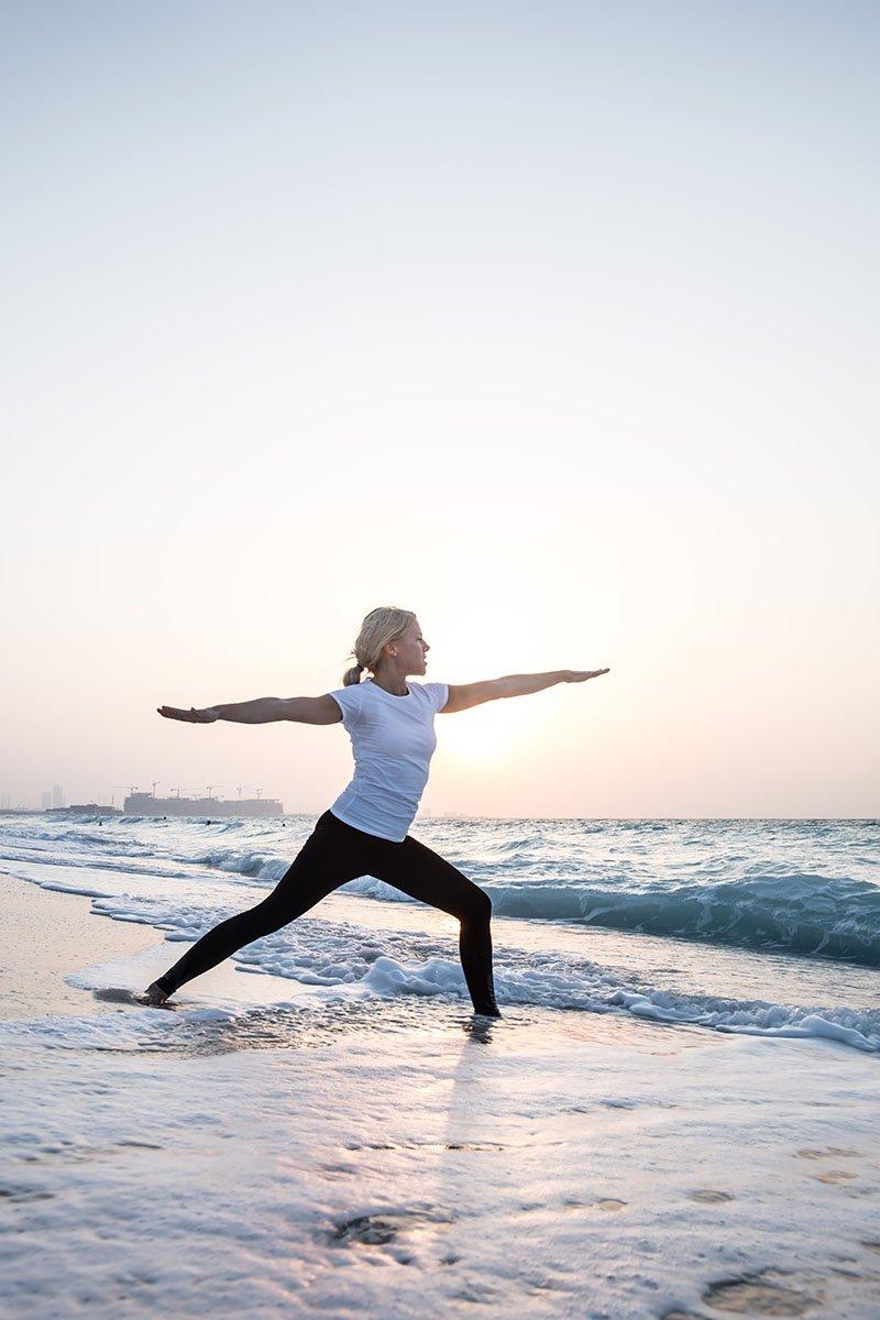 Female Yoga Teacher in Abu Dhabi - Gisella - Yoga On The Beach 3