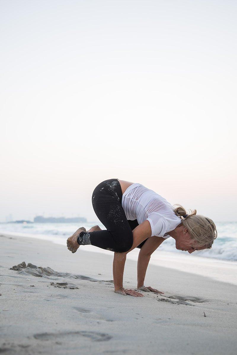 Female Yoga Teacher in Abu Dhabi - Gisella - Yoga On The Beach 6
