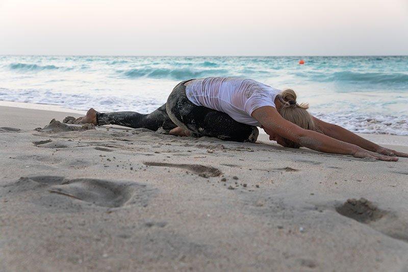 Female Yoga Teacher in Abu Dhabi - Gisella - Yoga On The Beach 8