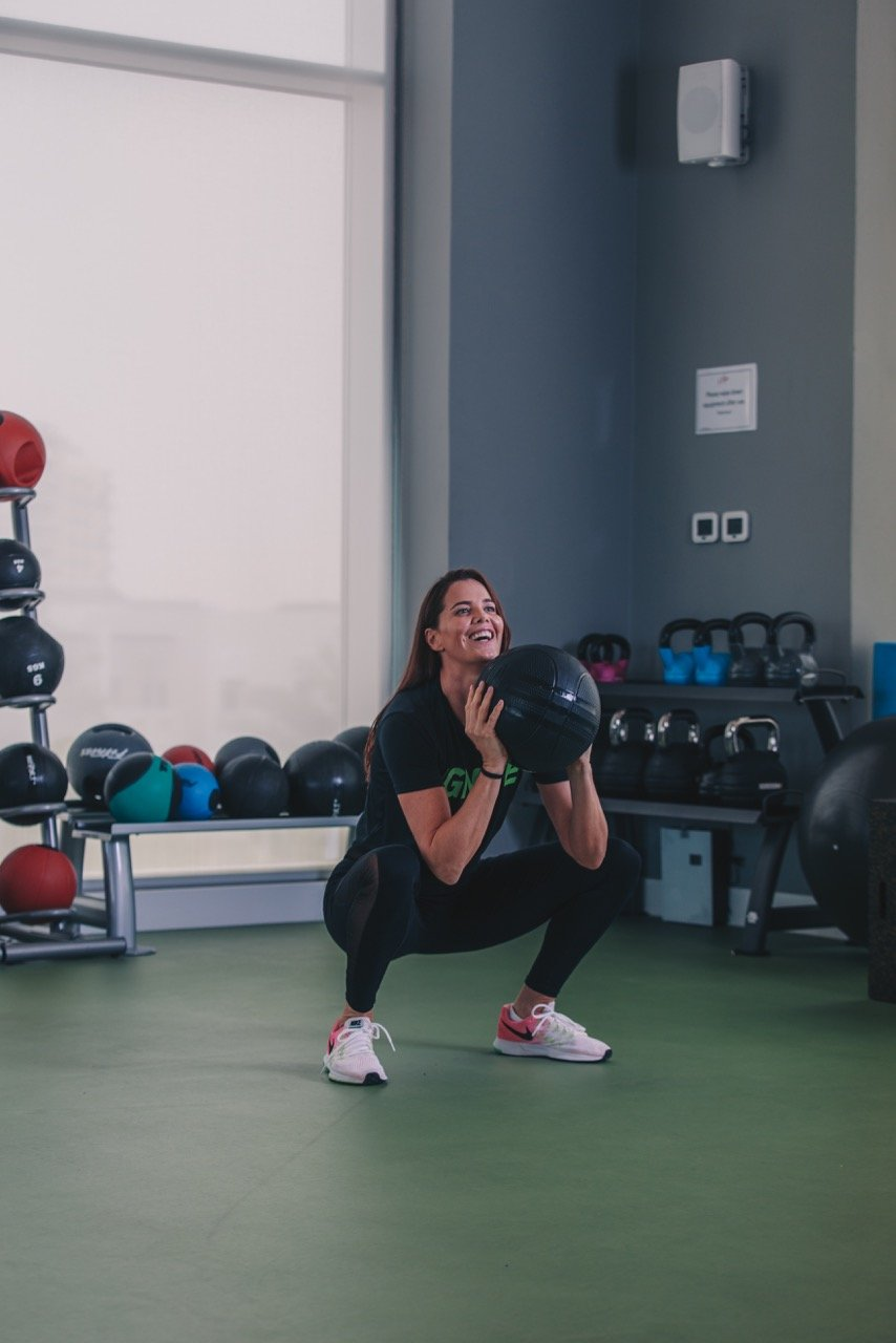 Ladies fitness personal trainer in Abu Dhabi - Aileen