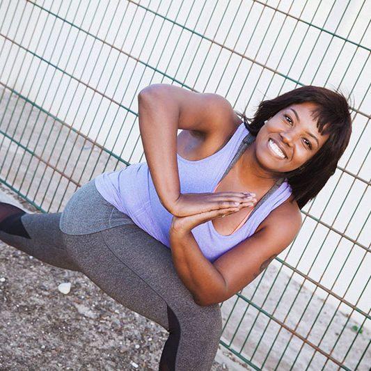 Luciana - female yoga personal trainer in Abu Dhabi UAE - Yoga pose 2