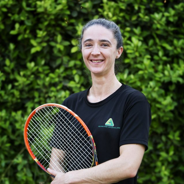 Female tennis coach and personal trainer in Abu Dhabi - Sarah