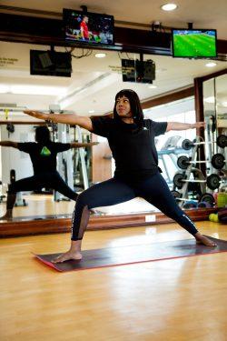 Home Yoga Coach In Abu Dhabi - Luciana - Yoga Pose 4