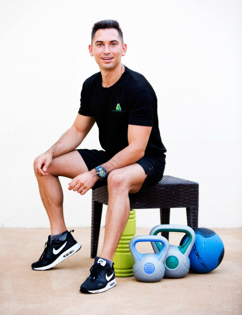 Bodybuilding Personal Trainer - At your home in Abu Dhabi - Andrey