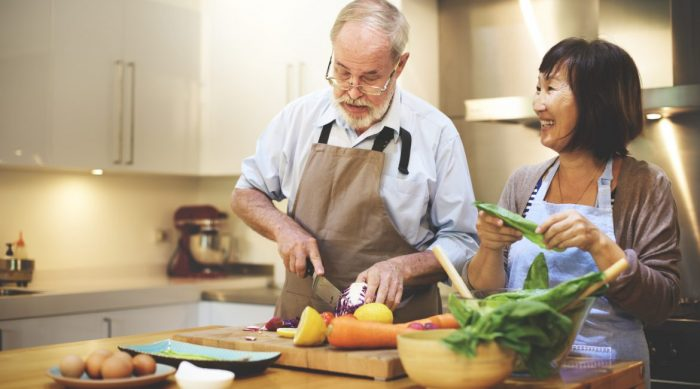 Healthy eating a exercise in the UAE for seniors and elderly