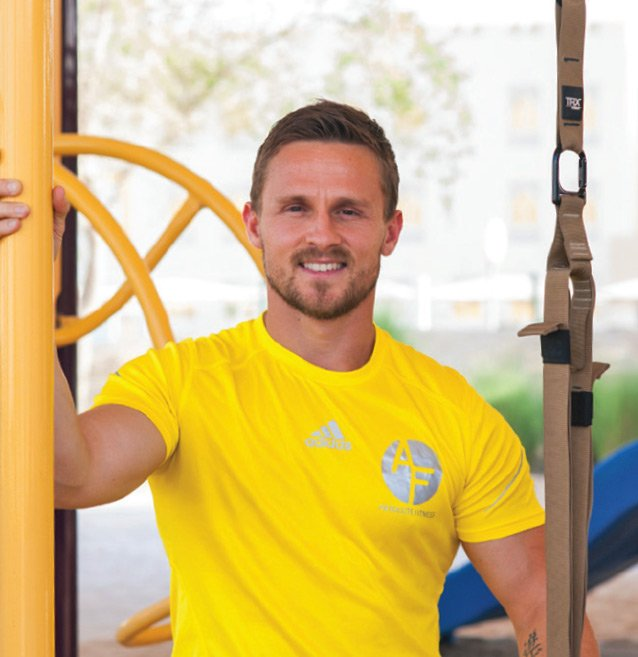Strength, Body Conditioning and rehabilitation personal trainer in Abu Dhabi - Jonny