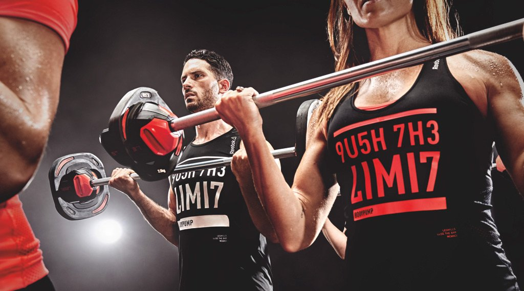 body pump fitness classes in Abu Dhabi, UAE
