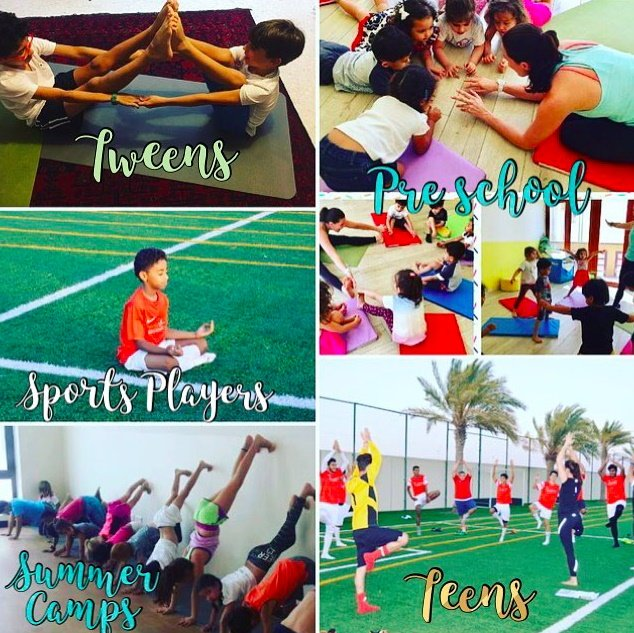 Abu Dhabi & Dubai Childrens Yoga Classes For All Ages