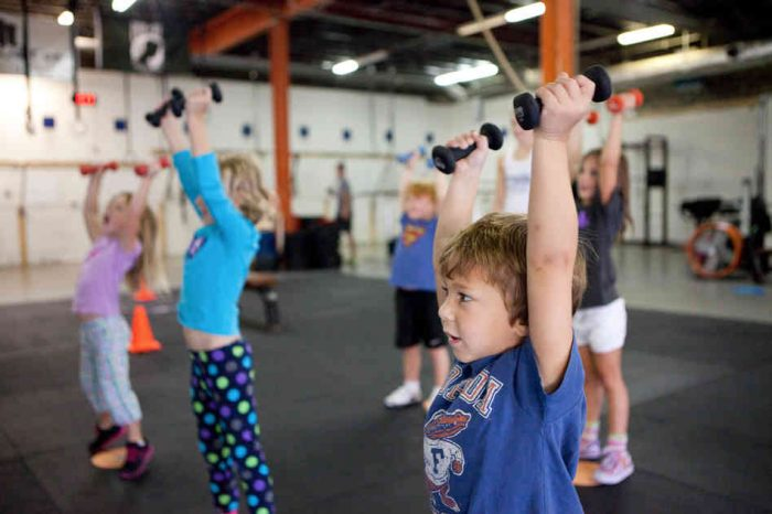Circuit training in abu dhabi and dubai for children