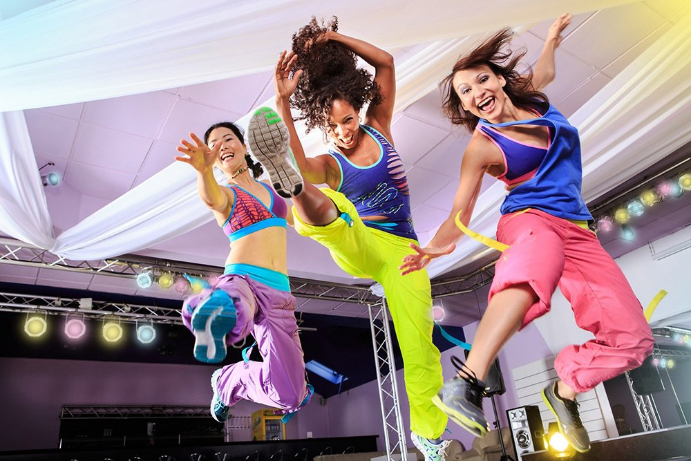 zumba fitness classes in abu dhabi, uae