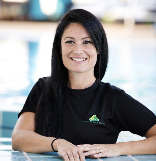 Abu Dhabi Fermale Swimming Coach - Valentina