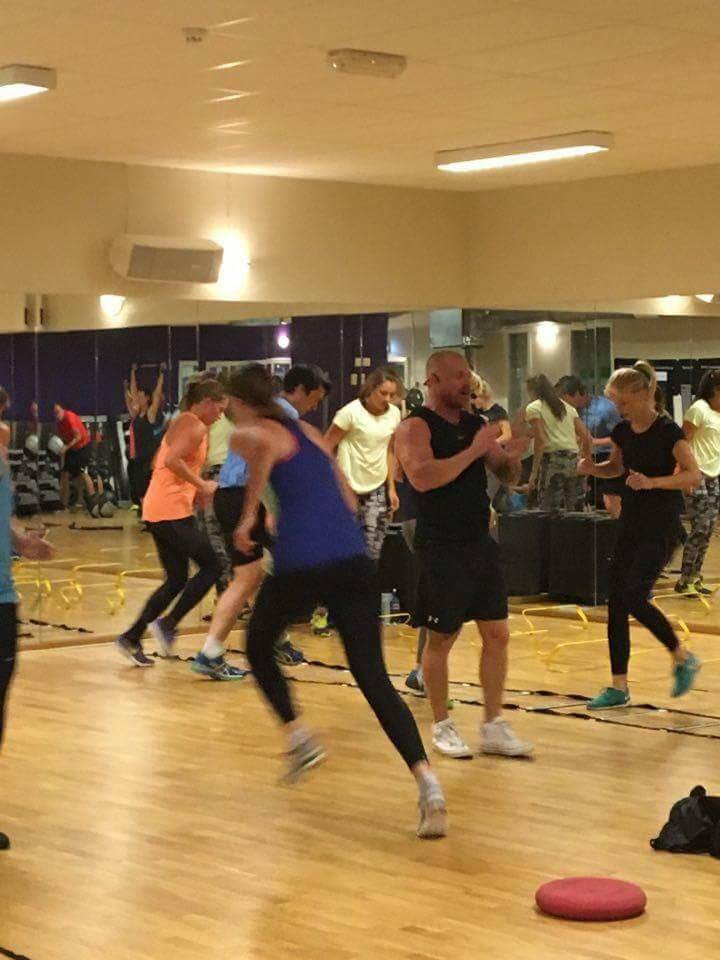 Group exercise classes in Abu Dhabi with Brian Malone