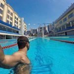 professional swim coach in Dubai for children, adults and seniors - nader