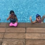swimming lessons for kids in dubai with Nader
