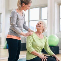 uae personal trainers - senior fitness basics trainer