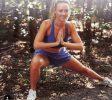 Abu Dhabi Trainer Jess - yoga pose stretch