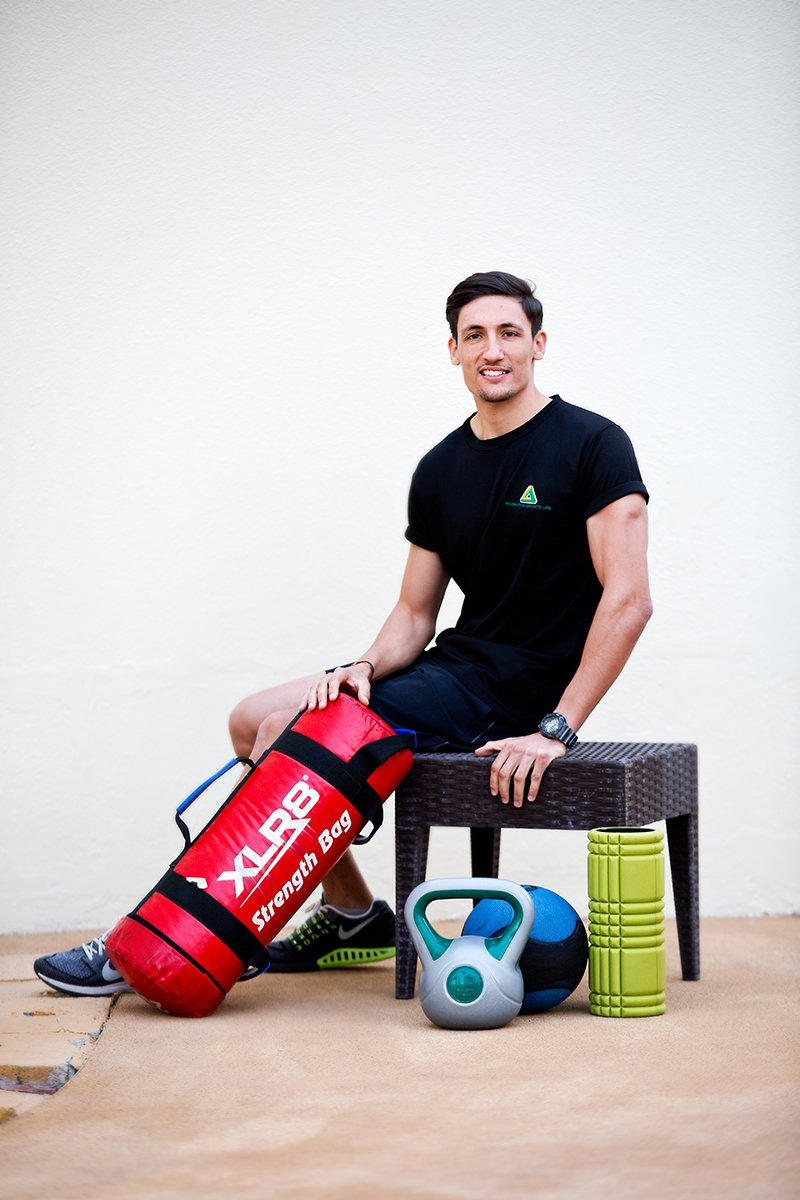 Abu Dhabi fitness coach Sander