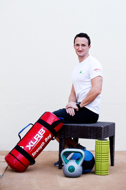 bob duff personal trainer in abu dhabi, uae