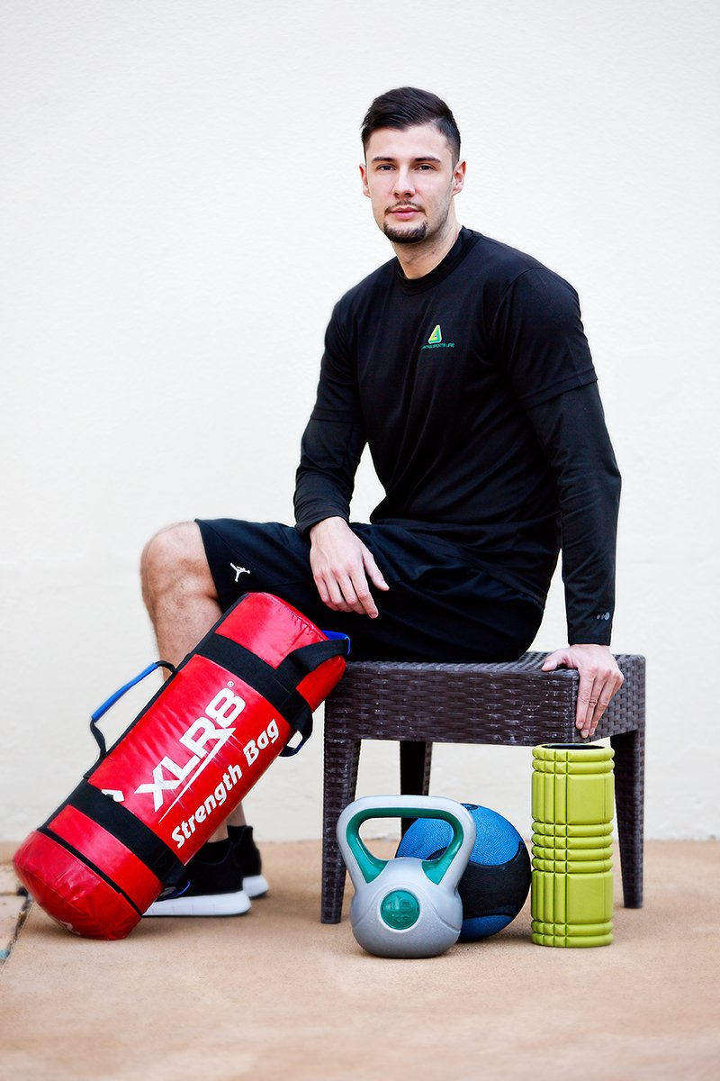 nutrition and fat loss coach in Abu Dhabi - uros