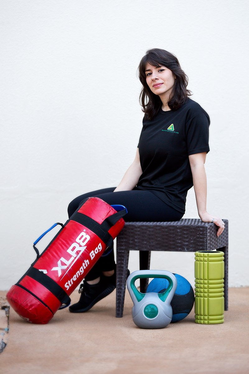 female fitness and exercise coach in Abu Dhabi - Zeynab