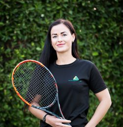 Abu Dhabi Tennis and Female Fitness Coach Alina