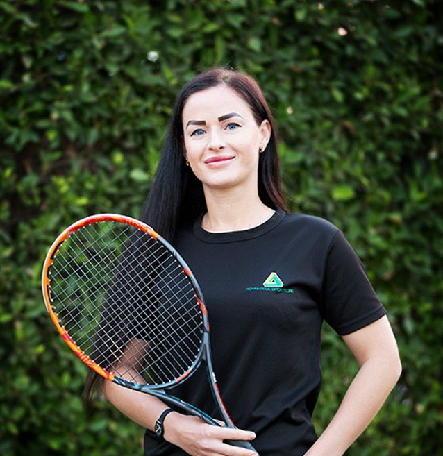 Female Tennis Coach in Abu Dhabi – Alina