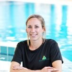 Female swimming coach and sports fitness personal trainer in Abu Dhabi - Lisa