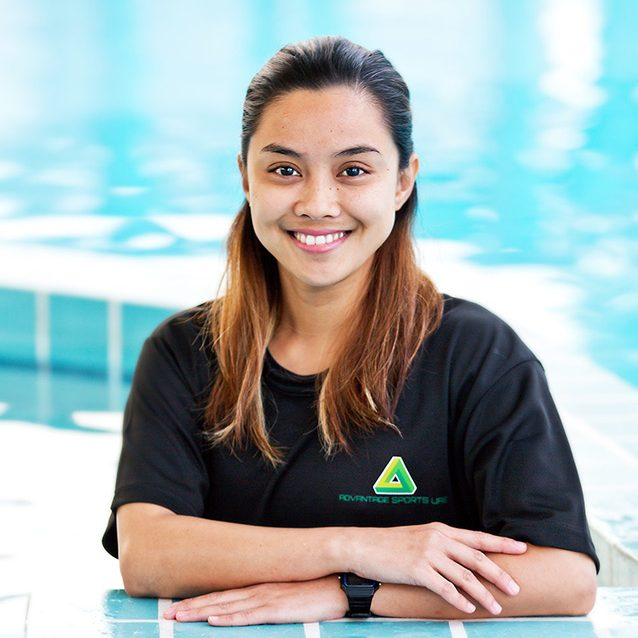 Swimming Coach in Abu Dhabi for adults, seniors and kids - Joy Caretero