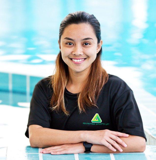 Swimming Coach in Abu Dhabi for adults, seniors and kids - Joy Caretero