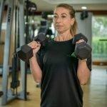 Abu Dhabi PT Fabiola - Dumbbell Training Arm Workouts 2
