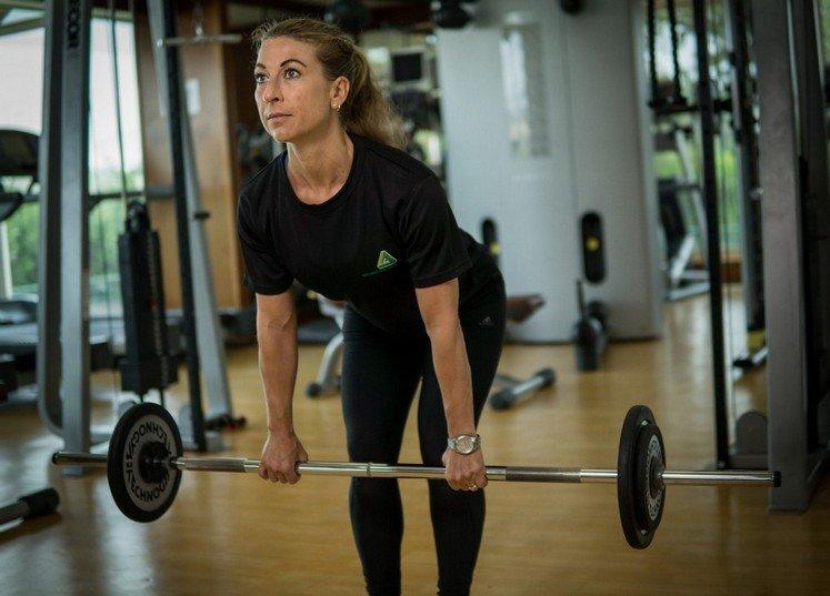 Abu Dhabi PT Fabiola - Weightlifting Training For Women
