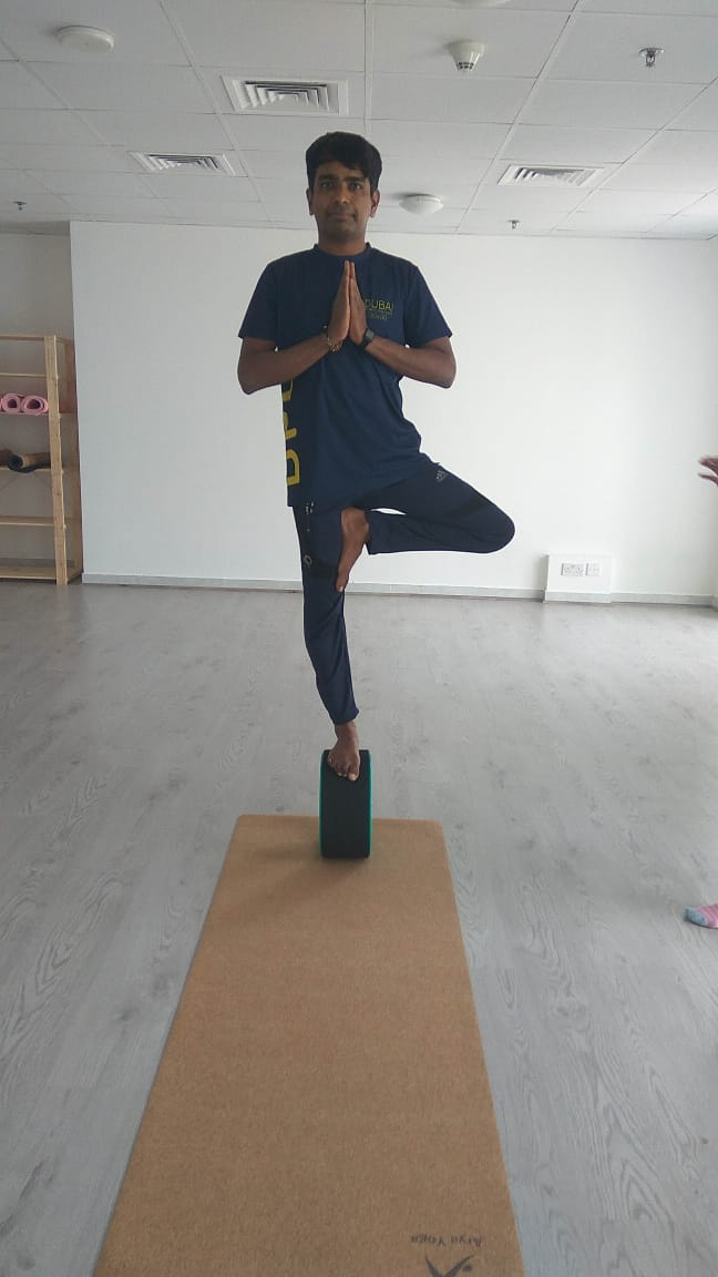 Rohit - Yoga coach and teacher in Dubai