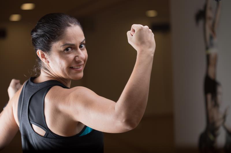 female personal trainer & fitness coach in Abu Dhabi UAE - Fernanda