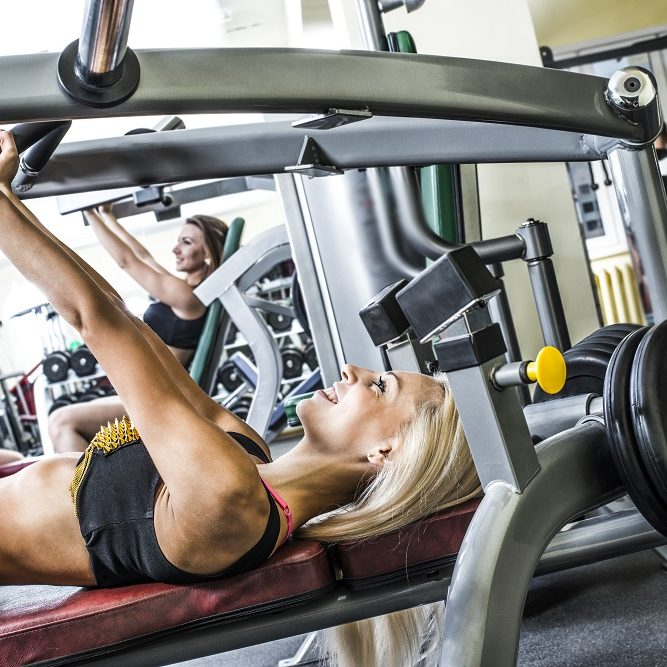 using free weights or gym exercise equipment in the uae
