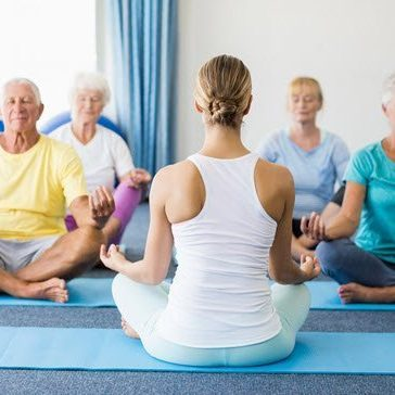 Yoga exercises for seniors in the UAE
