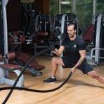 Abu Dhabi Boxing Coach & Personal Trainer Leo - battle ropes 2
