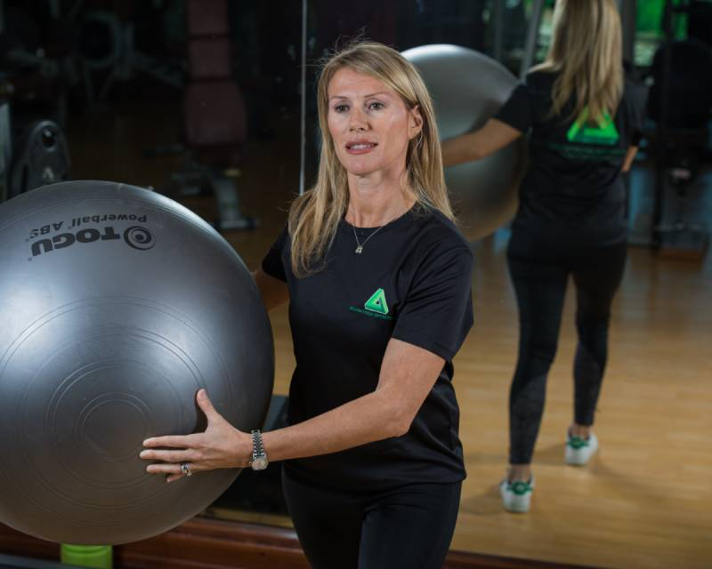 Abu Dhabi Female PT - Chiara - Exercise Ball Training 2