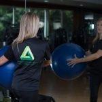 Abu Dhabi Female PT - Chiara - Exercise Ball Training 3