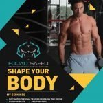 Dubai bodybuilding coach and personal trainer - fouad saeed leaflet