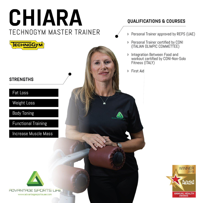 Female Fitness Coach In Abu Dhabi Chiara - Core Training Skills