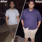 Fouad Saeed PT In Dubai - Weight loss and toning client before and after image 2