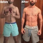 Fouad Saeed PT In Dubai - Weight loss and toning client before and after image 1