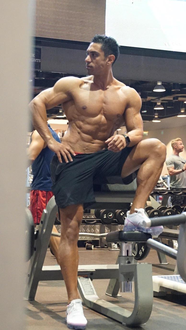 bodybuilding coach in dubai fouad
