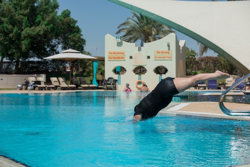 private swimming lessons in Abu Dhabi - Beverley